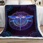 Dragonfly Sherpa Blanket JR2201 69O39