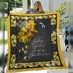 Dragonfly Sunflower F1401 82O33 Blanket
