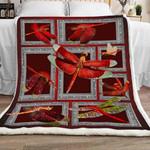 Dragonfly Sherpa Blanket JR2101 70O52