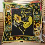 Elephant Sunflower Mimi Blanket JL3002 90O31