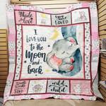 Elephant Nursery Blanket NOV1101 85O34