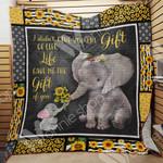 Elephant Sunflower Blanket JL1902 83O41