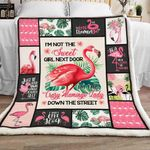 Flamingo Sherpa Blanket JR2102 95O47