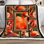 Flamingo Sherpa Blanket JR1301 78O42