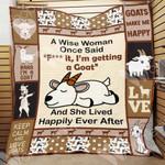 Goat Blanket OCT2201 78O42