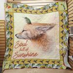 Fox Hummingbird Blanket JL1801 90O31