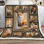 Fox Sherpa Blanket JR0901 90O41