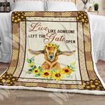 Goat Sherpa Blanket OCT2102 78O53