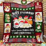 Guinea Pig Christmas Blanket NOV1401 68O51