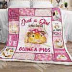 Guinea Pig Sherpa Blanket NOV1301 73O57
