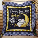 Elephant A1903 82O33 Blanket