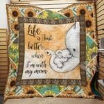 Elephant Mother's Day A1601 81O31 Blanket