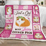 Guinea Pig Sherpa Blanket NOV1401 67O57