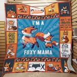 Fox Mom Blanket JL0402 93O42