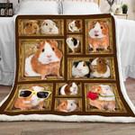 Guinea Pig Sherpa Blanket DCB2801 95O47