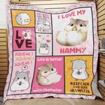 Hamster Blanket NOV1902 77O53