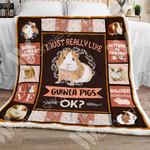 Guinea Pig Sherpa Blanket NOV1302 67O39