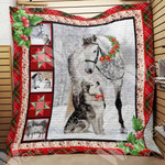 Horse Christmas Blanket OCT1701 85O34