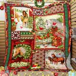Horse Christmas Blanket OCT1001 81O50