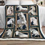 Horse Sherpa Blanket JR1301 69O49
