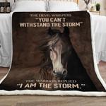 Horse Sherpa Blanket JR0901 78O58