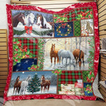 Horse Christmas Blanket OCT0304 85O31