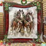 Horse Christmas Blanket OCT1102 85O34