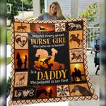 Horse Girl Blanket DCB2502 78O42