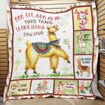 Llama Blanket DCB1401 90O41