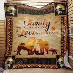 Lion Family Blanket SEP0602 97O55