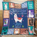 Llama Blanket DCB2301 78O58