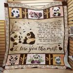 Panda Blanket AU3001 97O54