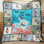 Hummingbird Blanket JL1502 90O41