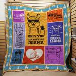 Llama F1501 87O39 Blanket