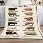 Pig Sherpa Blanket JR1602 78O53