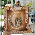 Owl Blanket SEP2501 81O56