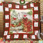 Horse Christmas Blanket OCT1603 78O42