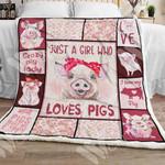 Pig Sherpa Blanket NOV0701 77O58