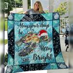 Turtle Christmas Blanket SEP2503 97O35