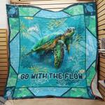 Sea Turtle Blanket AU1301 97O31