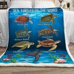 Turtle Sherpa Blanket JR1801 77O42
