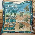 Turtle Blanket AU0803 85O35