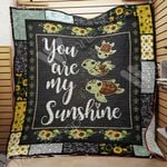 Turtle Sunflower Blanket AU0701 95O34