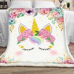 Unicorn Sherpa Blanket JR1401 78O53