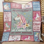Aunt Unicorn Blanket AU3002 81O42