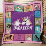 Unicorn Dad Blanket MY1801 87O44
