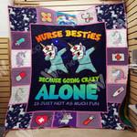 Unicorn Nurse A0101 85O39 Blanket