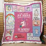 Unicorn F1302 84O41 Blanket