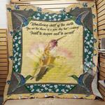 Hummingbird Blanket JL1302 90O31