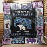 Alzheimer's Elephant Blanket SEP0604 95O47
